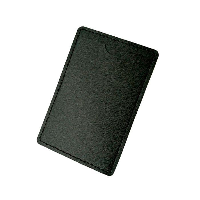 Кожаный кармашек для флешки U-PK001, чёрный