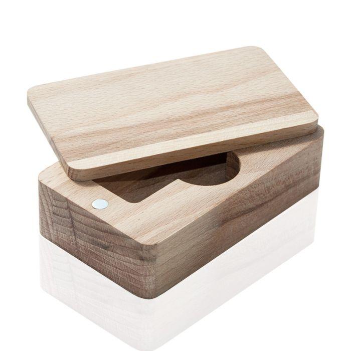Коробка из дерева U-PK027 бук натуральный
