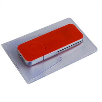 """USB-Flash накопитель (флешка) """"BIG"""", 32 Gb, с красной подсветкой. Красный"""