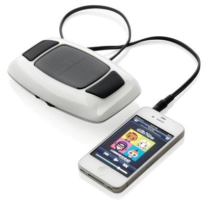 Аудио-колонка и зарядное устройство на солнечной батарее Sonus 2 в 1