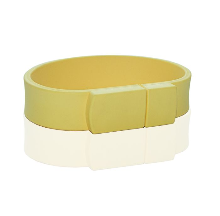 Флешка в виде браслета (желтый 120 c)  64 гб
