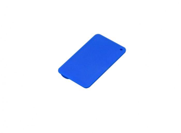 Флеш-накопитель в виде пластиковой карты, 32 Гб. Цвет синий, USB2.0