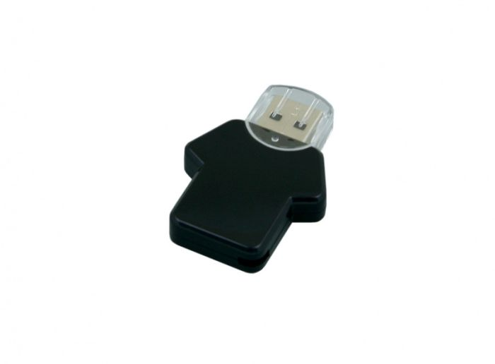 USB-Flash накопитель (флешка)  из пластика, модель Football_man, объем памяти 128 Gb, цвет чёрный