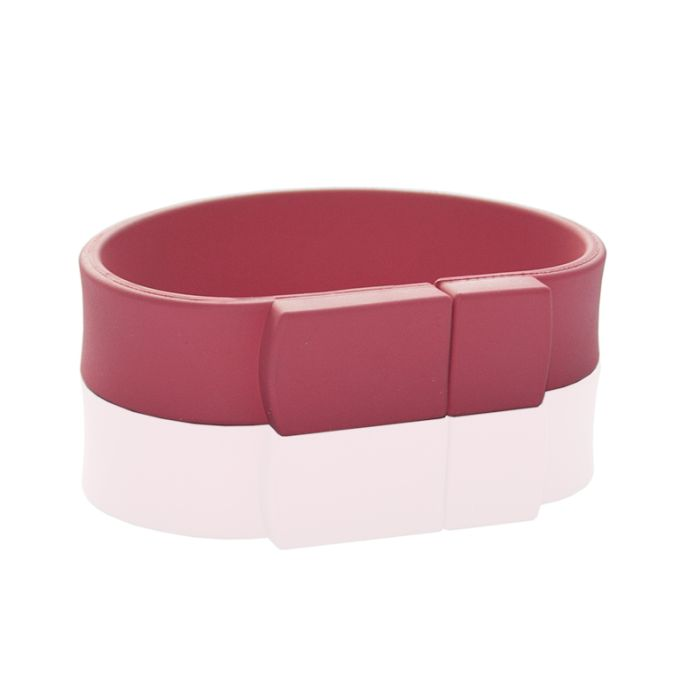 Флешка в виде браслета (розовый 7423 c)  128 гб