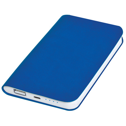 "Универсальное зарядное устройство ""Softi"" (4000mAh), цвет синий"