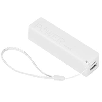 """Универсальное зарядное устройство """"Keox"""" (2000mAh), белое"""