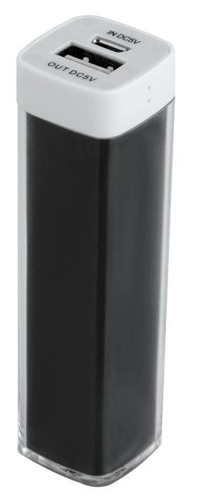 Универсальный аккумулятор Bar, 2200 mAh, чёрный