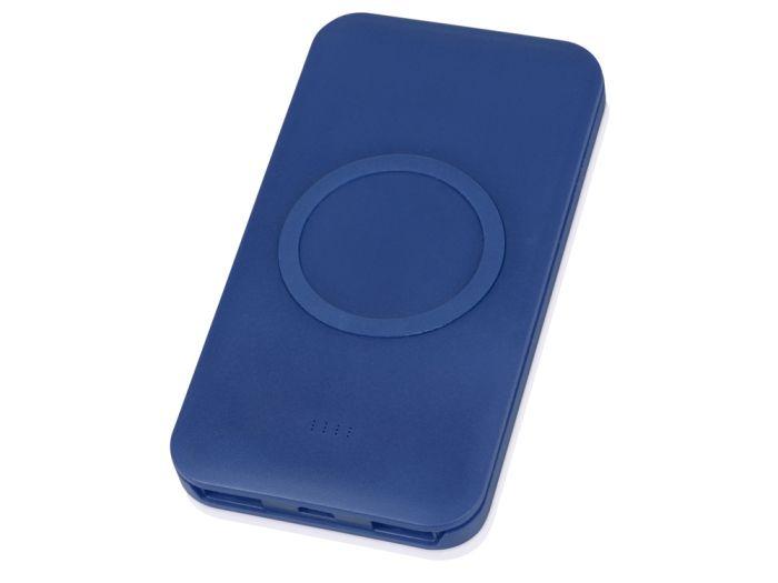 """Портативное беспроводное зарядное устройство """"Impulse"""", 4000 mAh, цвет синий"""