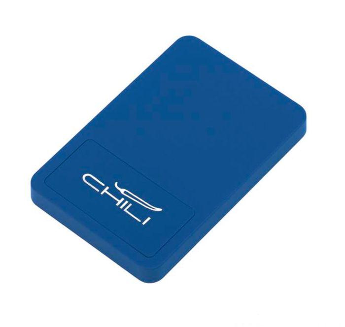 "Беспроводное зарядное устройство ""Touchy"", цвет тёмно-синий"