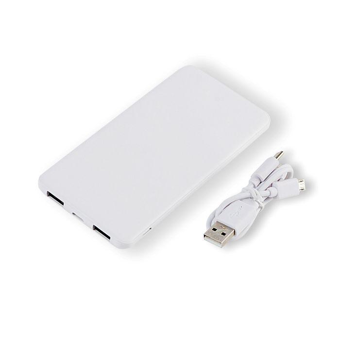 """Зарядное устройство """"Slim"""", 5000 mAh, цвет белый"""