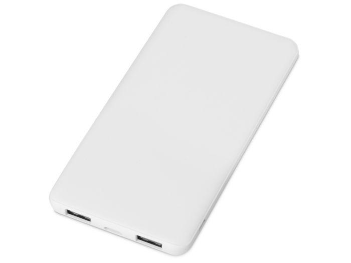 """Портативное зарядное устройство """"Reserve"""" с USB Type-C, 5000 mAh, цвет белый"""