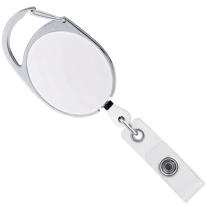 Держатель для магнитной карты или бейджа с карабином Access, белый