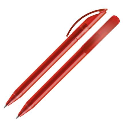 Ручка шариковая Prodir, модель DS3 TFF, цвет красный