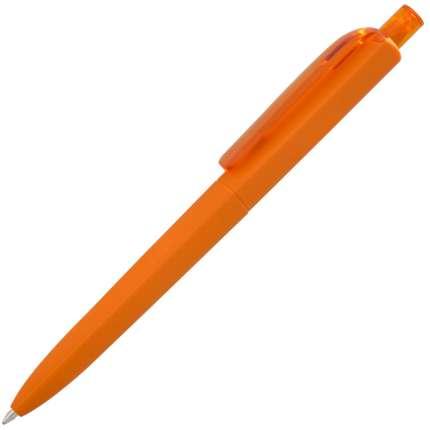 Ручка шариковая Prodir, модель DS8 PRR-Т SOFT TOUCH, цвет оранжевый