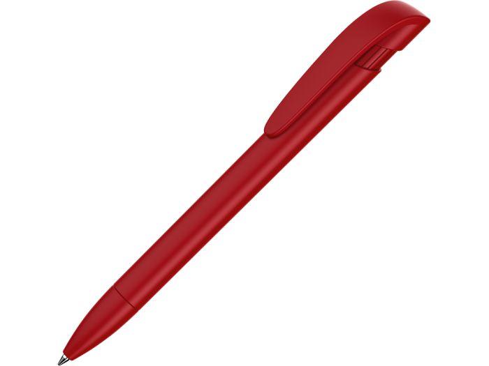 "Ручка пластиковая шариковая ""YES F"", красная"