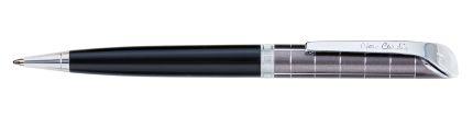 Шариковая ручка Pierre Cardin GAMME, цвет корпуса черный и серый металлик