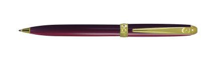 Шариковая ручка Pierre Cardin ECO, лак матовый бордовый