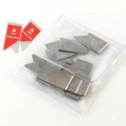 Набор металлических скрепок для бумаг под логотип Вашей компании