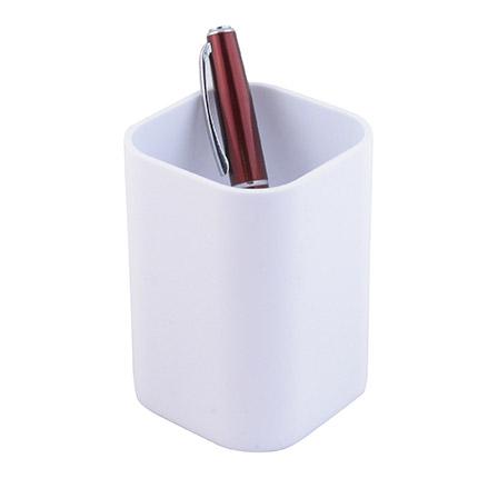 """Подставка-стакан для пишущих принадлежностей """"Quadro"""", цвет белый"""