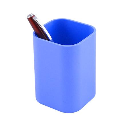 """Подставка-стакан для пишущих принадлежностей """"Quadro"""", цвет голубой"""