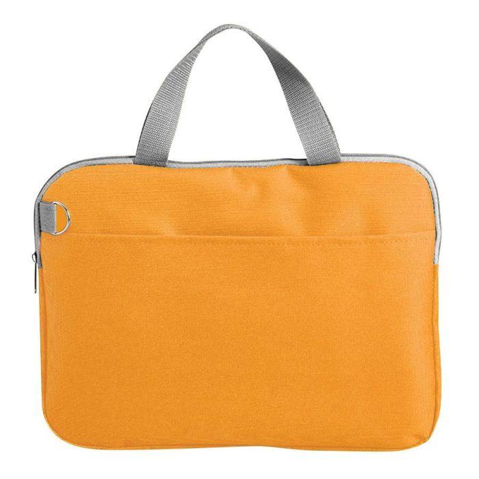 """Конференц-сумка """"Тодес-2"""" с отделением для ноутбука, цвет оранжевый"""