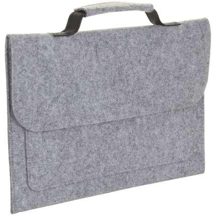 """Сумка для ноутбука """"BRIXTON"""", серый меланж"""