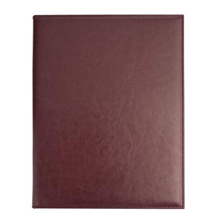 Папка для меню, материал Nebraska,  размер 33,0x24,5x2,5 см (формат A4), цвет бордовый