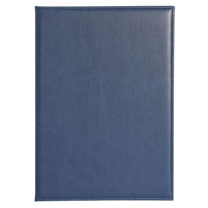 Папка адресная модель Brand, материал Nebraska, размер 22,5х31 см (формат A4), цвет синий
