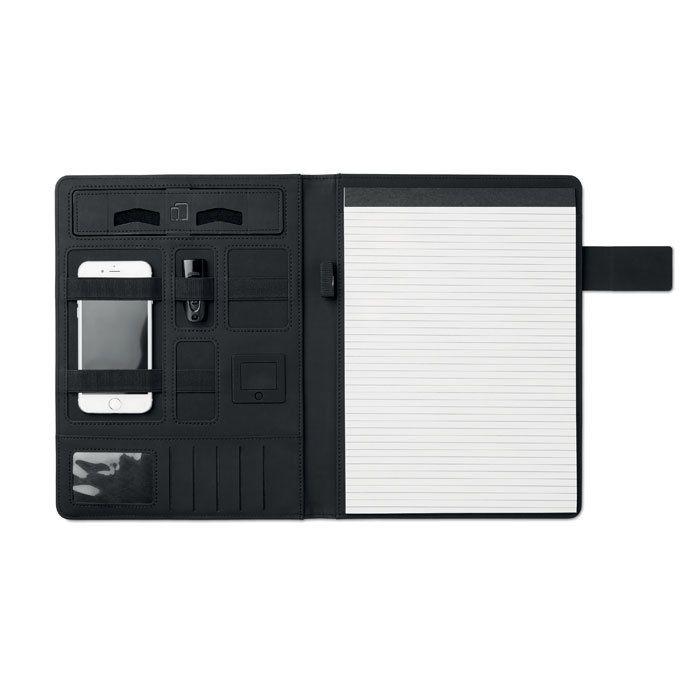 Папка с аккумулятором MO9232-03, черный