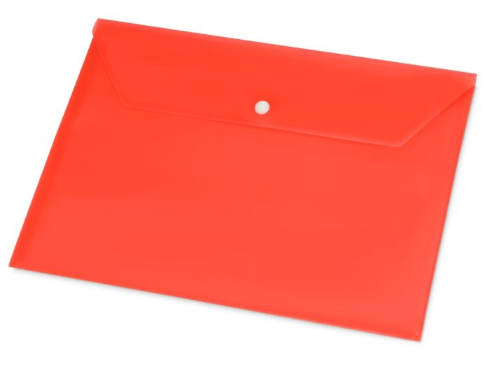 Папка-конверт А4, цвет красный