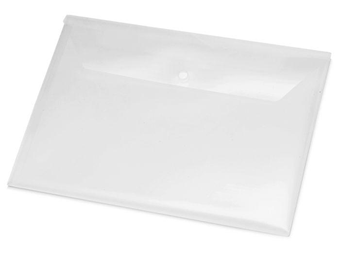 Папка-конверт А4, цвет прозрачный