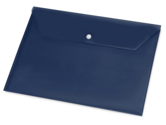Папка-конверт А4, цвет синий