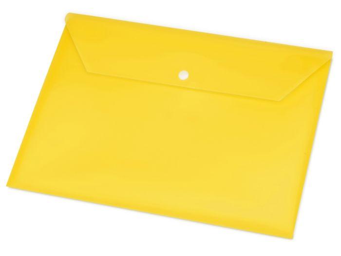 Папка-конверт А4, цвет жёлтый