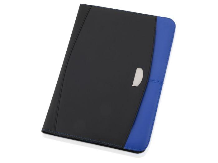 """Папка для документов """"Gabin"""", цвет чёрный с синим"""