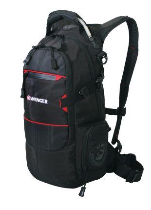 Рюкзак спортивный WENGER (22 л), чёрный