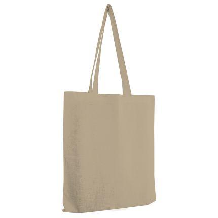 """Сумка для покупок из хлопка """"Eco"""", 38х42 см, цвет бежевый"""