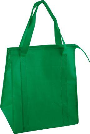 Сумка для покупок на молнии, цвет зелёный