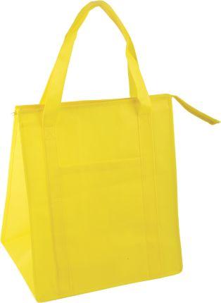 Сумка для покупок на молнии, цвет жёлтый