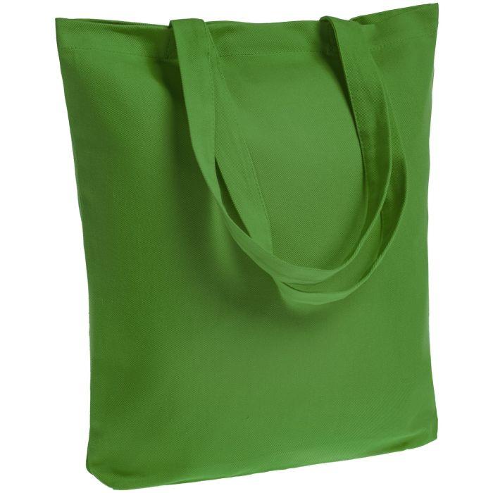 Холщовая сумка Avoska, ярко-зелёная