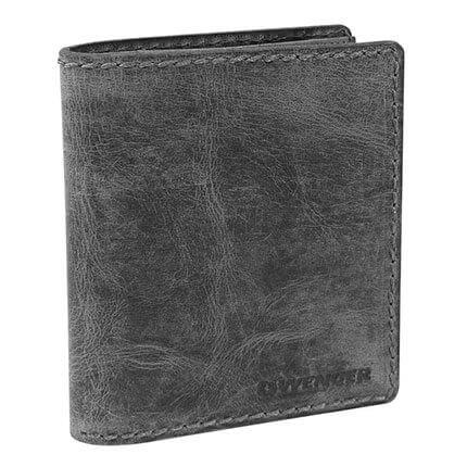 Портмоне WENGER Arizona, цвет черный, воловья кожа, размер 11х2х14 см