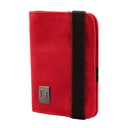 Обложка для паспорта VICTORINOX, с защитой от сканирования RFID, цвет красный