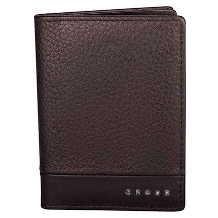 Обложка для кредитных карт, Cross Nueva FV, цвет коричневый