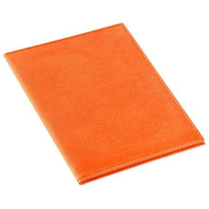 """Обложка для паспорта """"Twill"""", оранжевая"""