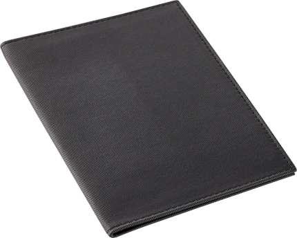 """Обложка для паспорта """"Twill"""", чёрная"""