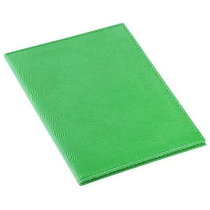 Обложка для автодокументов Twill, зелёная