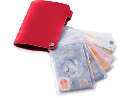 """Бумажник """"Valencia"""", красный"""