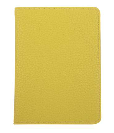 "Обложка для паспорта (бренд InFolio) коллекция ""Palette"", размер 10х13,5 см, переплёт мягкий, цвет светло-зелёный"