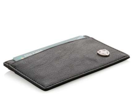 Бумажник Swiss Peak с защитой от сканирования RFID, 3 отделения, 8 карт, цвет чёрный