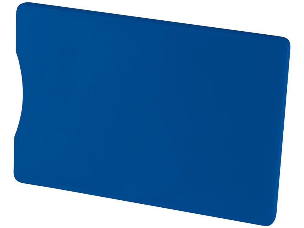Чехол для кредитных карт с защитой от сканирования (RFID), синий