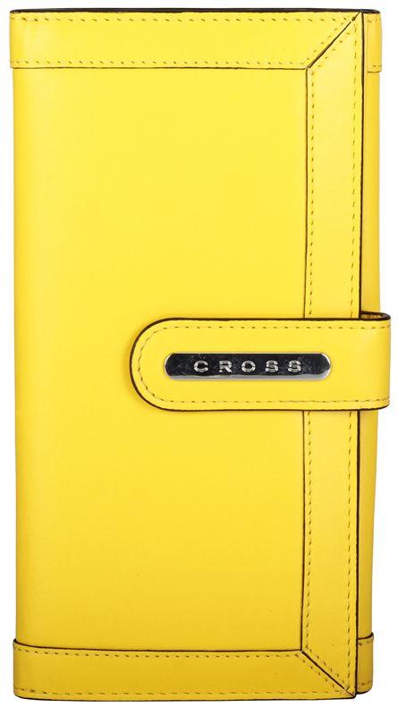 Клатч-кошелек Cross Color Time, цвет жёлтый